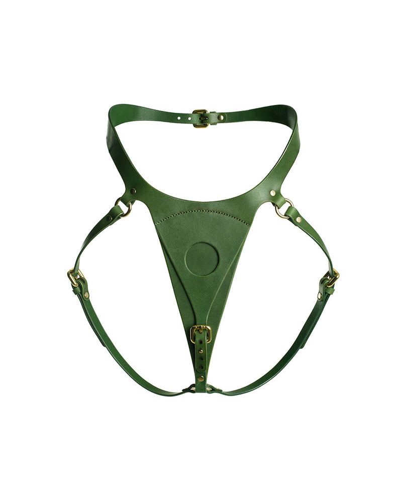 "Panties for strap-on ""Lora"" Green"