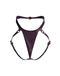 "Panties for strap-on ""Lora"" Violet"
