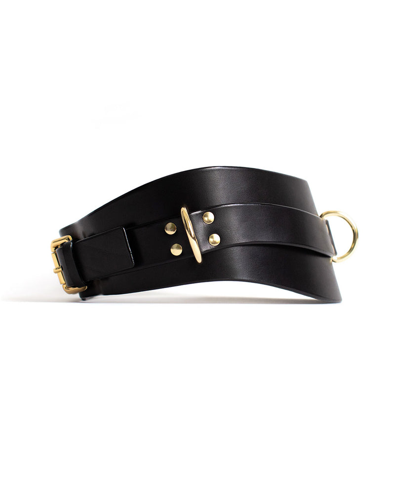 Anoeses black bondage belt