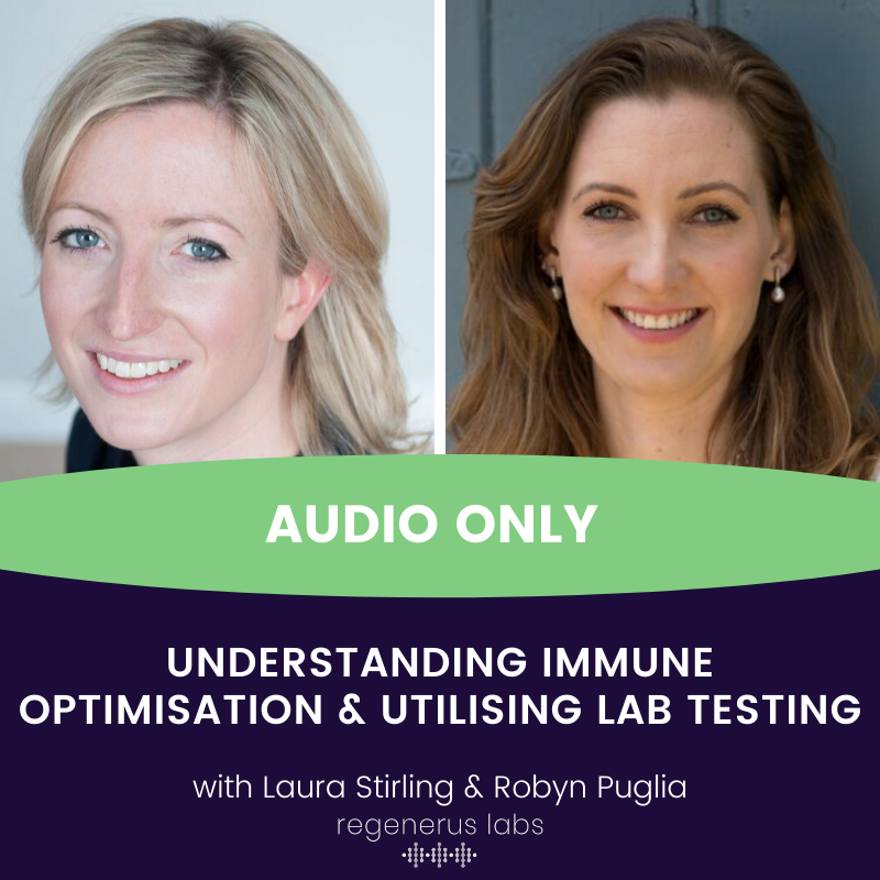 Understanding immune optimisation, utilising lab testing