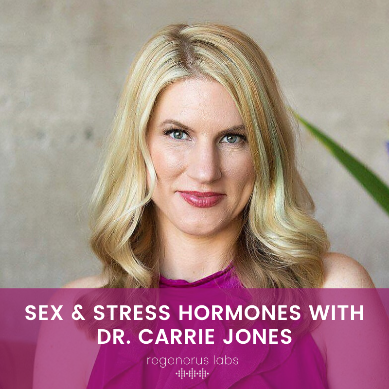 Sex & Stress Hormones with Dr. Carrie Jones Part 2
