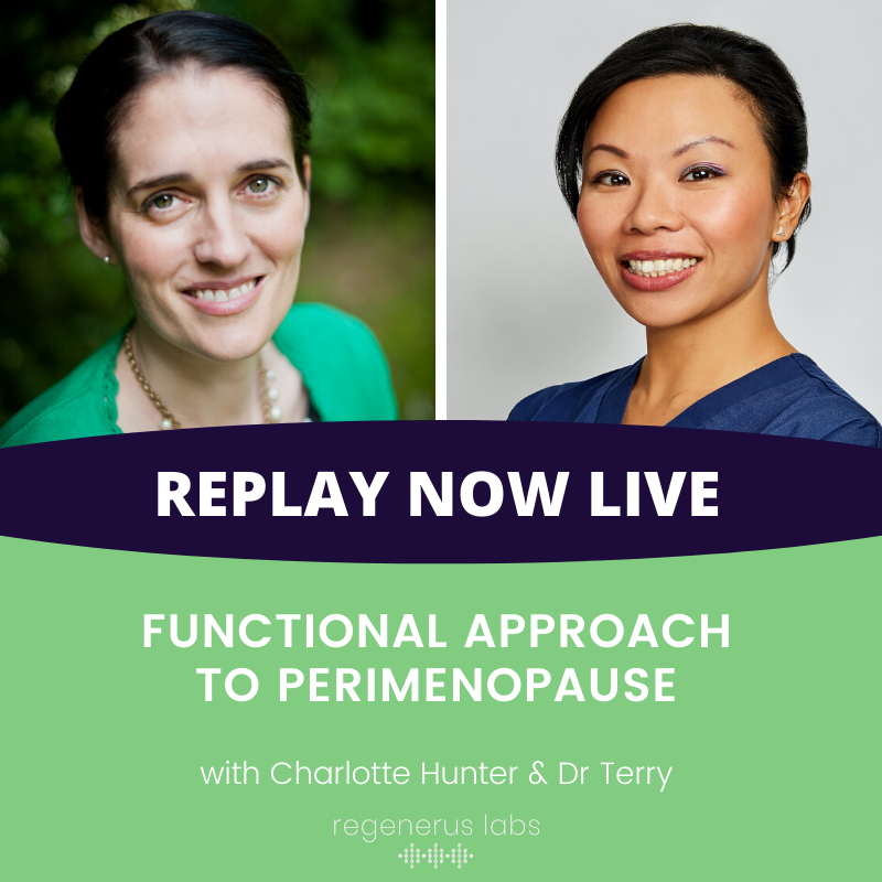 Functional approach to perimenopause with Dr. Terry