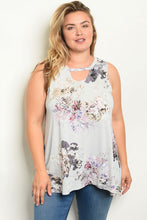 Load image into Gallery viewer, Hi-Lo Sleeveless Tunic Tank