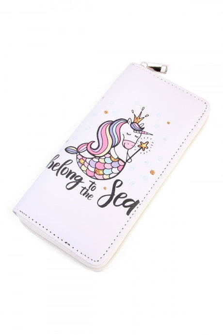 Mermicorn Single Zip Wallet