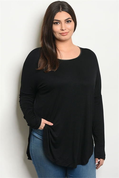 Scoop Neck Tunic Top