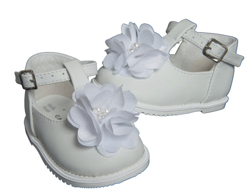 Zapatos Bebe ideal Bautizo Niña #406
