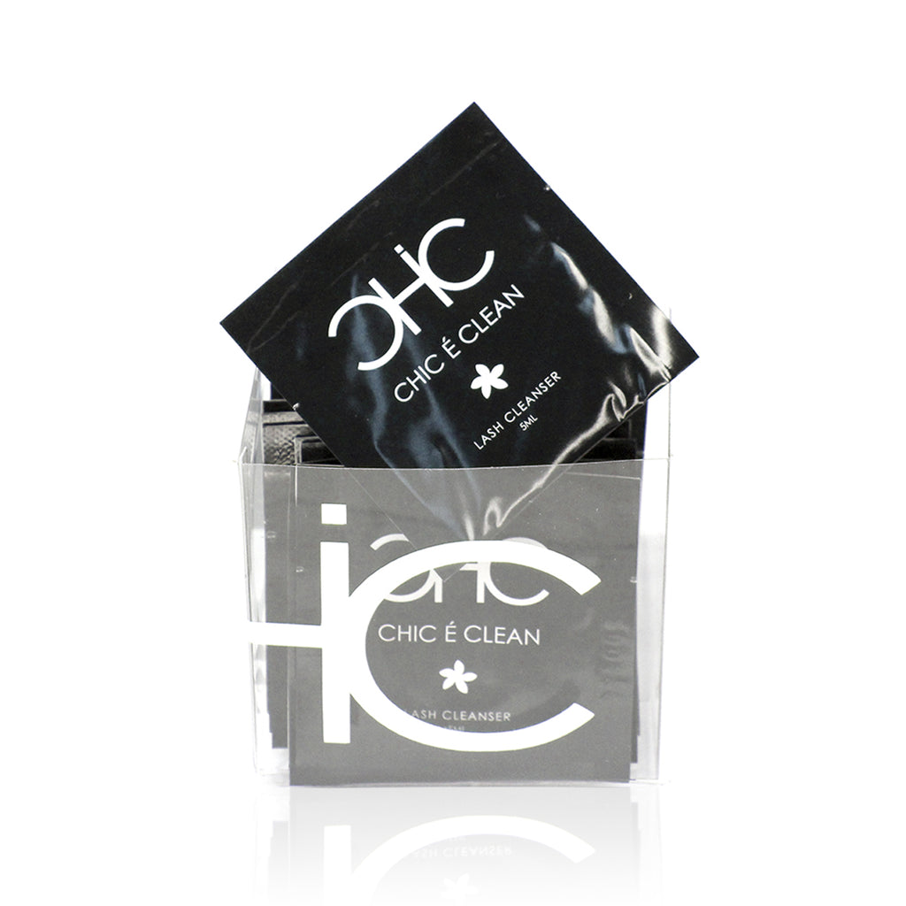 Chic É Clean Lash Cleanser Packs