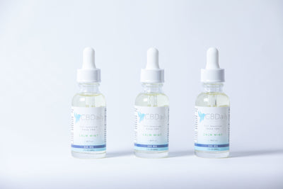 Full Spectrum Calm Mint 300mg CBD Oil with MCT