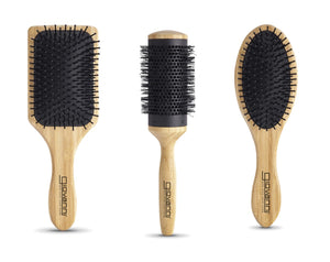 Bamboo Hair Brush (4690041241689)