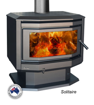 Eureka Solitaire Wood Fire