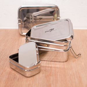Stainless Steel Lunch Boxes (1957406310451) (4677682495577)