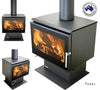 Eureka Pearl Freestanding Wood Fire