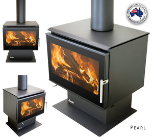 Eureka Pearl Freestanding Wood Fire (2011845984307)