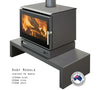 Eureka Ruby Freestanding Wood Fire