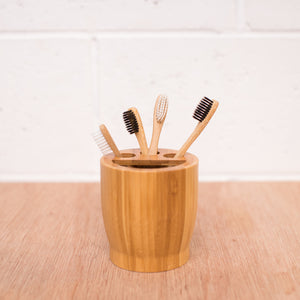 Bamboo Toothbrush Holder (1957413945395)