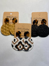 Load image into Gallery viewer, ABJ Leather Earrings