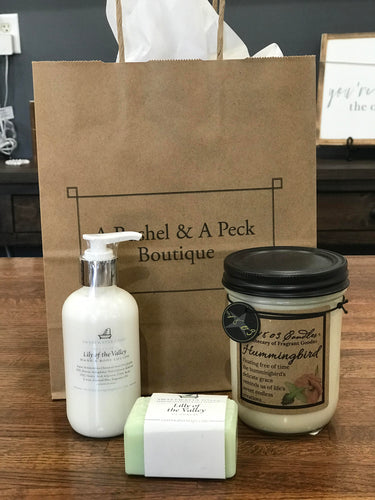 Pamper Bundle with Lily of the Valley