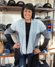Load image into Gallery viewer, Grey Sweater Cardigan