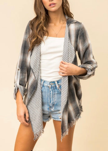 Frayed Edge Plaid