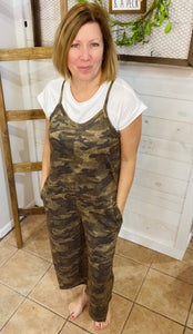 Jackie - Camo Jumper