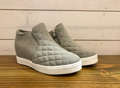 Piper Wedge - Grey