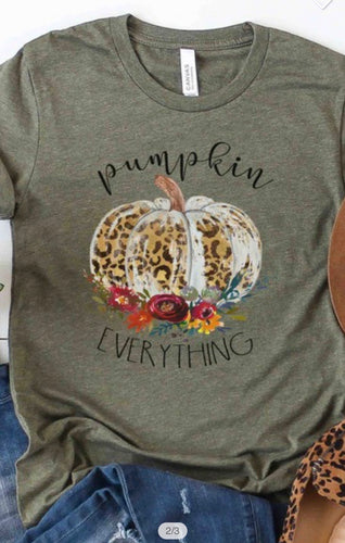 Pumpkin Everything Graphic Tee