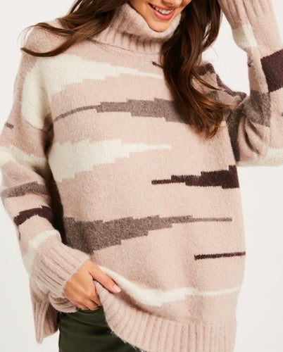 Rosie Turtle Neck Sweater