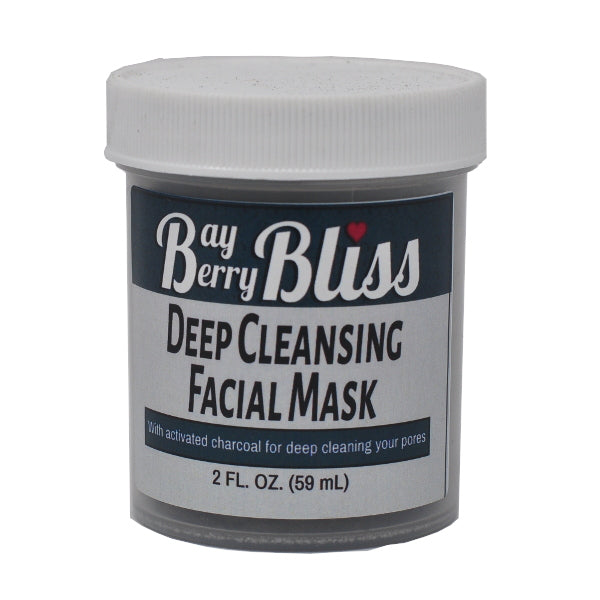 Deep Cleansing Facial Mask (All-Natural)
