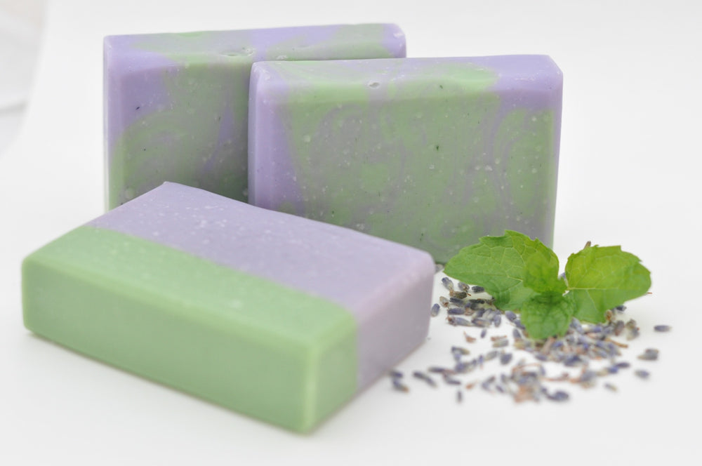 Lavender Mint Natural Soap
