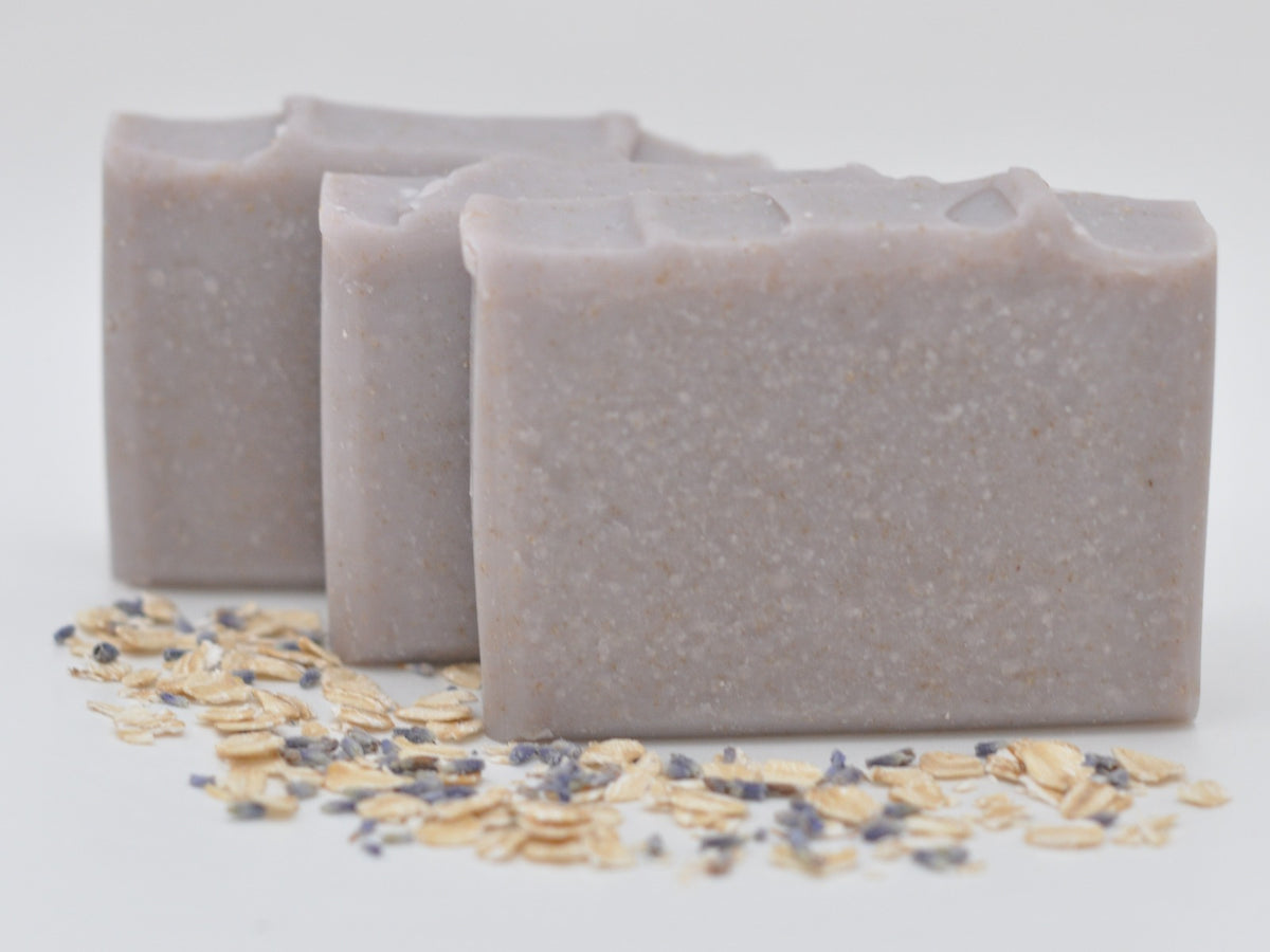 Lavender Oatmeal Natural Soap