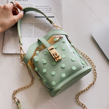 Load image into Gallery viewer, Polka Dot Bucket Bag - LVNGROSE