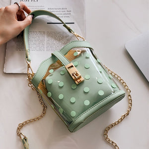 Polka Dot Bucket Bag - LVNGROSE