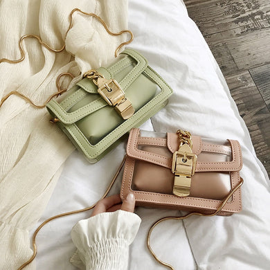 LVNGROSE-Transparent Chain Jelly Bag -fashion-handbags-jewelry-fashionnova-2019-trending-jewelry-best-jewelry-trends-kylie-jenner