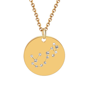 Zodiac Constellation Necklace - LVNGROSE
