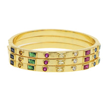 Load image into Gallery viewer, Tricolor Bangles - LVNGROSE