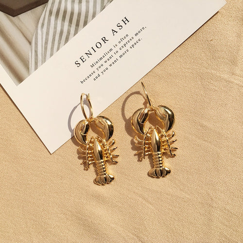 Sea Lobster Earrings - LVNGROSE
