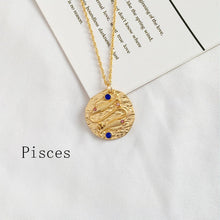 Load image into Gallery viewer, Zodiac Sign Coin Necklace - LVNGROSE