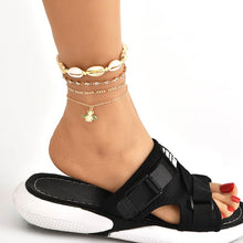 Load image into Gallery viewer, Bee Shell Anklet - LVNGROSE