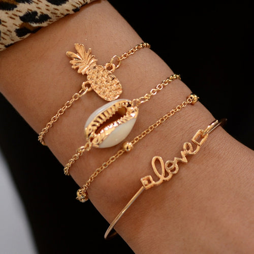 Multi Sea Bracelet Set - LVNGROSE