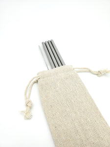 Organic Cotton Straw Carrying Bags | Bulk - The Sustainable Switch