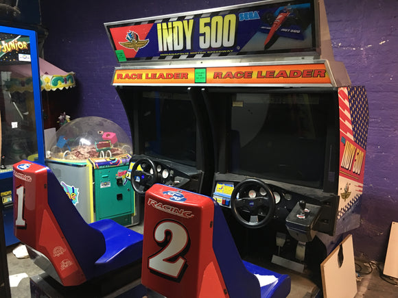 TWIN DRIVER INDY 500 ARCADE GAMES