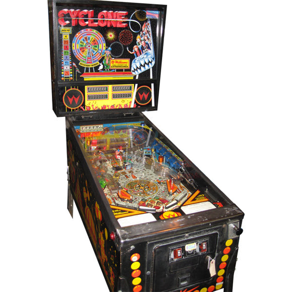 Cyclone Pinball by Williams