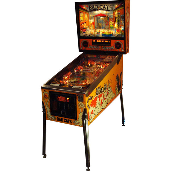 Bad Cats Pinball by Williams