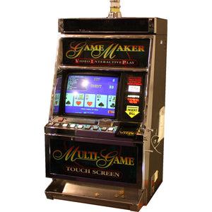 TOUCH SCREEN Video Poker Machine wtih Dollar Bill Acceptor