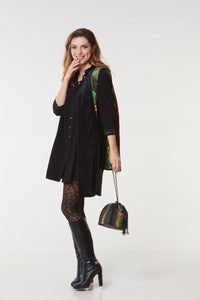 Lilla Lane - SANTANA PYRAMID - sac - BLACK&GOLD