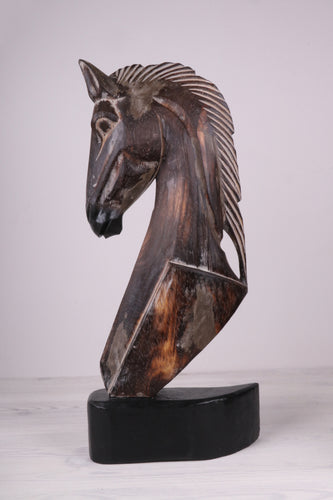 CAVALLO - Sculpture bois ANTIK BROWN