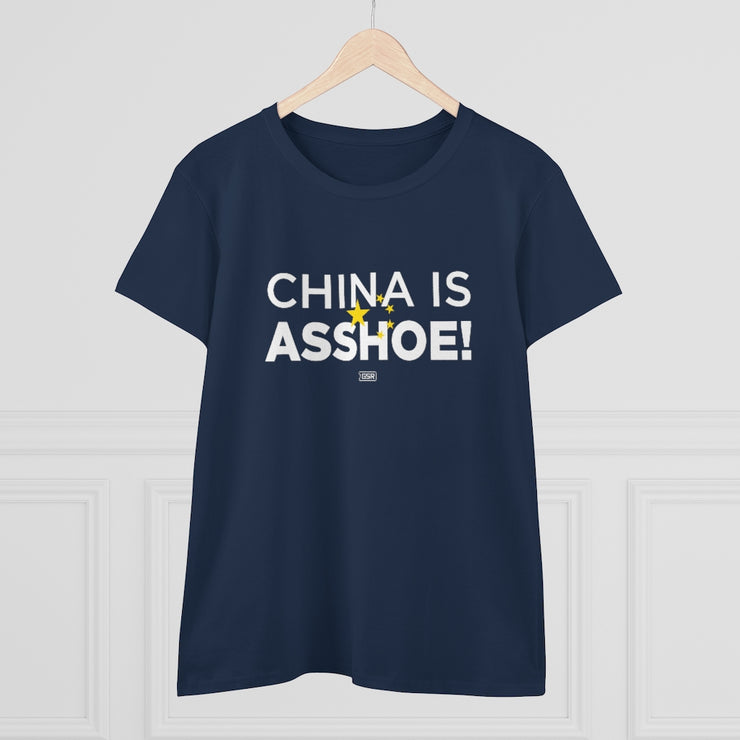 GSR China is Asshoe Ladies Tee