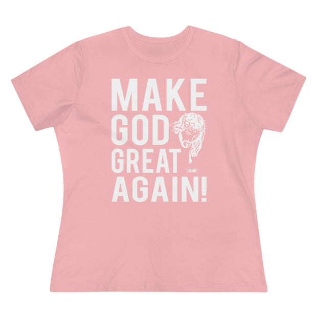 GSR Make God Great Again Ladies Tee