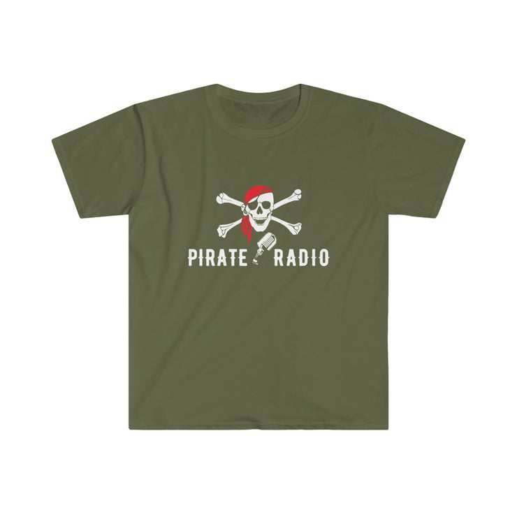 GSR Pirate Radio Logo Mens Tee