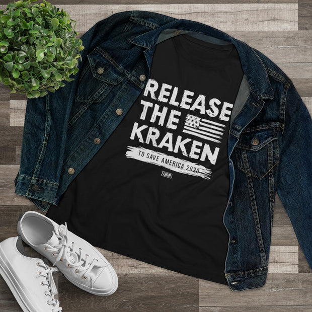 GSR Ladies Release the Kraken Relaxed Tee